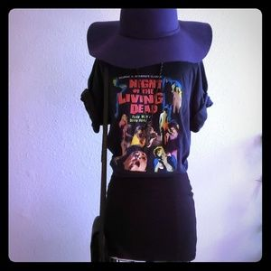 Vintage Night of the living dead T shirt